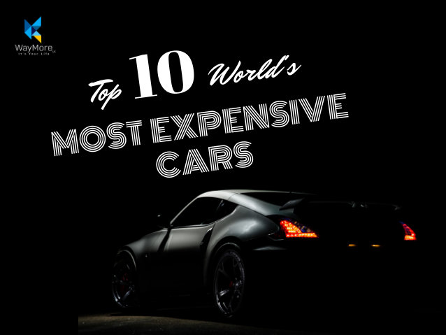 Top 10 World's Most Expensive Cars | 2019